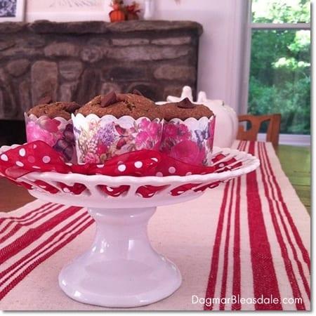 Dagmar's Home: zucchini banana muffin recipe