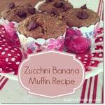 Recipe: Easy Zucchini Banana Muffins