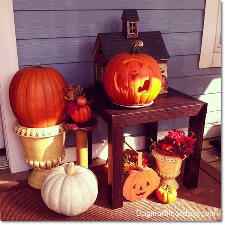 pumpkin carved with Pumpkin Master kit