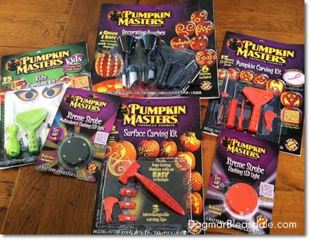 Pumpkin Masters carving kits review 2013