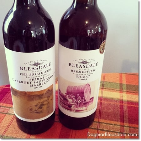 Bleasdale wine from Australia