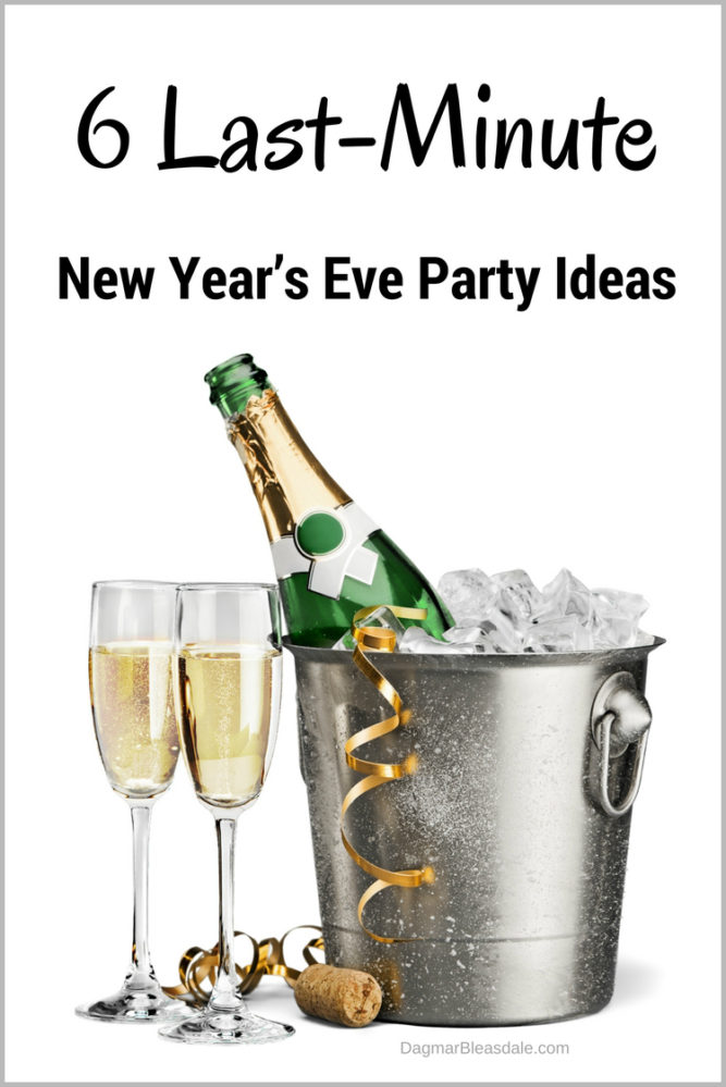 DIY New Year's Eve Party Ideas, http://www.dagmarbleasdale.com/2013/12/6-last-minute-new-years-eve-party-ideas/
