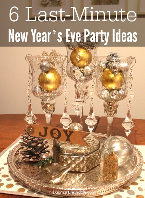 DIY New Year's Eve Ideas - Decor, Treats, Printables ...