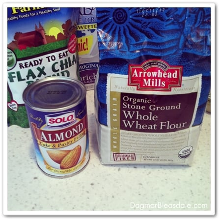making a healthy almond cake recipe