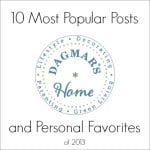 10 Most Popular Posts and Personal Favorites of 2013