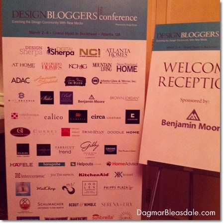 What I Learned at the Design Bloggers Conference, Day 1