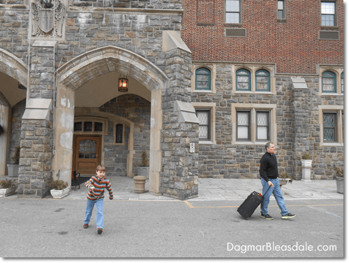 Our Staycation at the Thayer Hotel at West Point