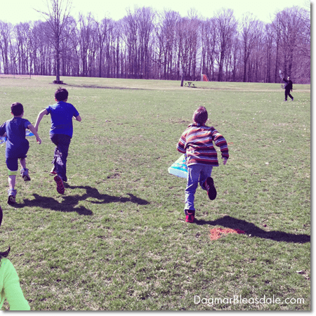 Easter Egg Hunt, Mason Jars, and Composting
