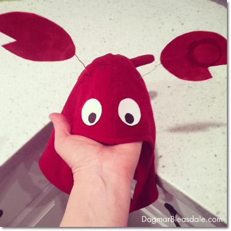 DIY Costume: Crab Headpiece