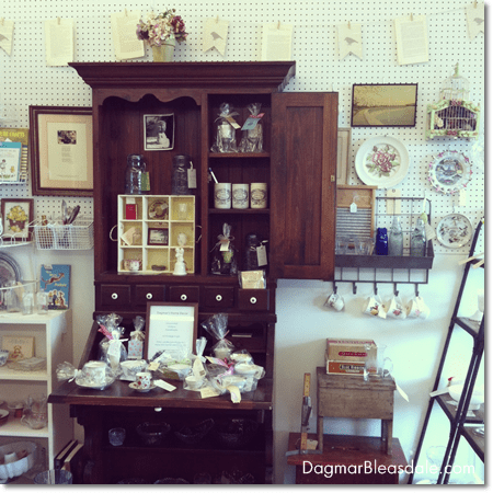 vintage items at Newburgh Vintage Emporium