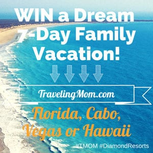 win a 7-Day Diamond Resorts International Family Vacation!