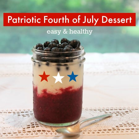 Patriotic Fourth of July Dessert