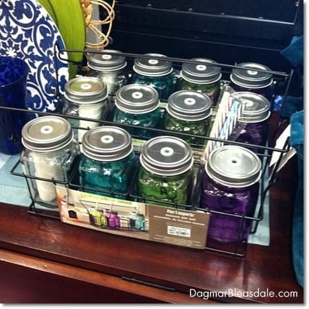 Pier 1 Imports summer 2014 collection, mason jars with straws