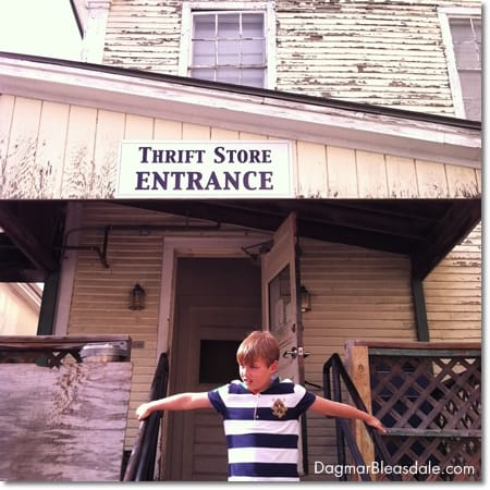 thrift store in Woodstock, Vermont