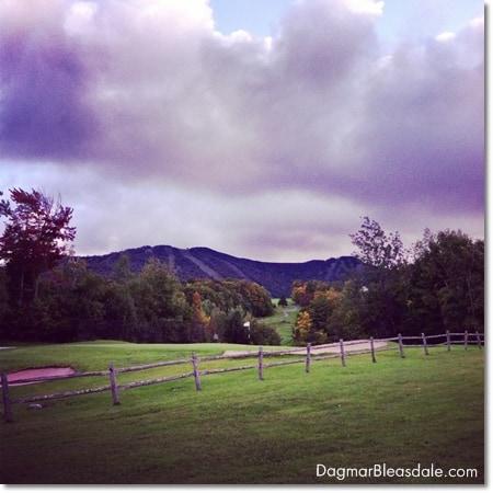 mountains in Killington, Vermont