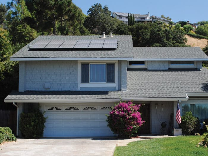 going solar: Sunrun solar panels