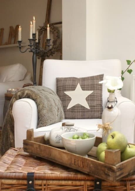 Country Cottage Decor Decorating With White Amp Brown