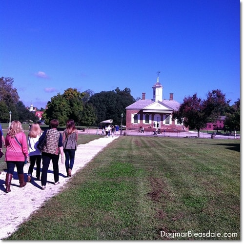 Colonial Williamsburg tour