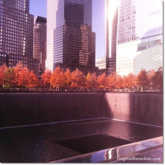 9/11 Museum pools, New York