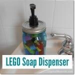 Lego Soap Dispenser, a Great DIY Gift for Kids