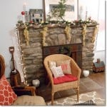 Win a $2,500 Gymboree Shopping Spree, christmas decor on mantel