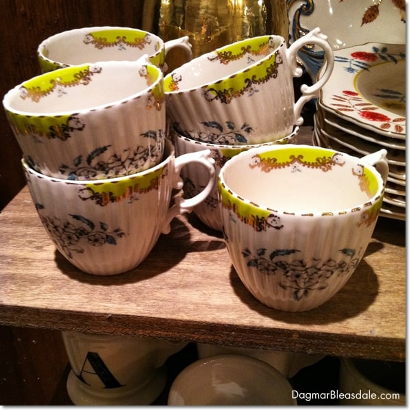 Anthropologie gift ideas, bee cup