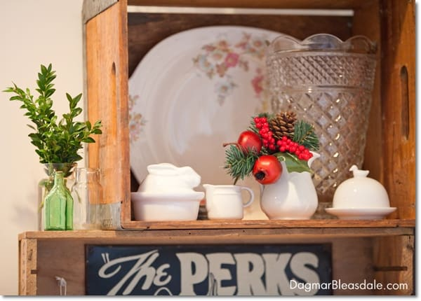 Blue Cottage Christmas Home Tour 2014