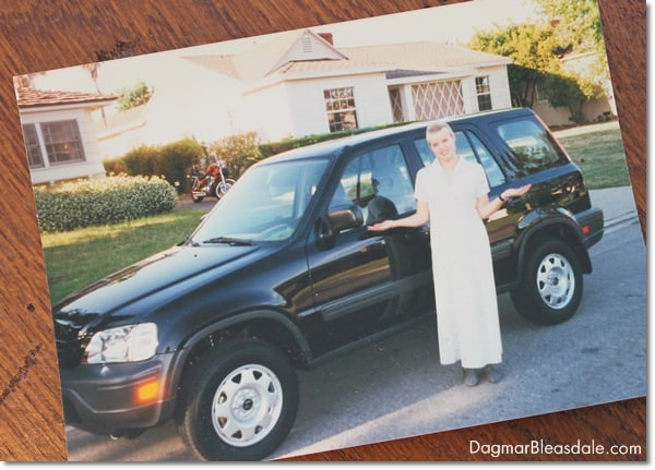 Honda CRV 1997, black