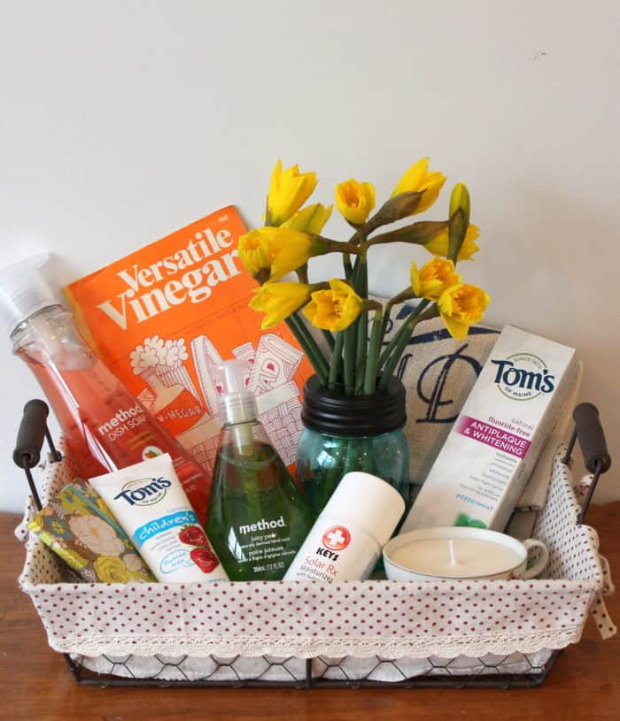 DIY GREEN YOUR HOME Gift Basket