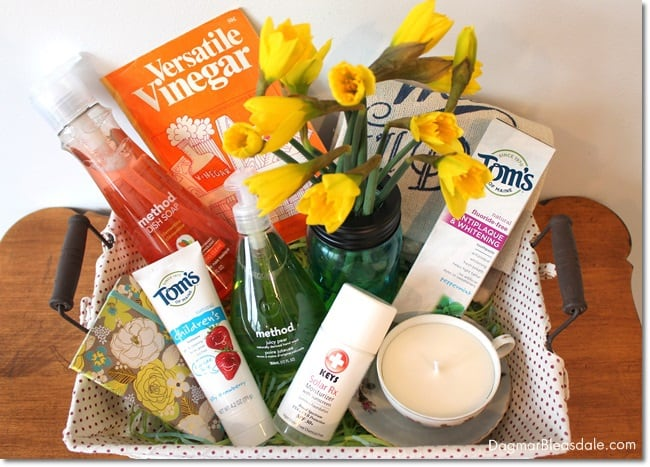 """Green Your Home"" Gift Basket"