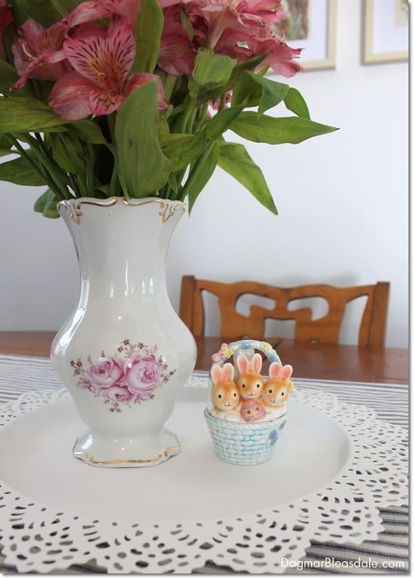 Weimar Porzellan Vase