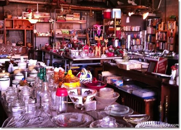 Pop's Barn sale in Cold Spring, NY