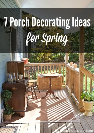 Dagmar 39 s home top 10 posts of 2015 Cottage porch decorating ideas