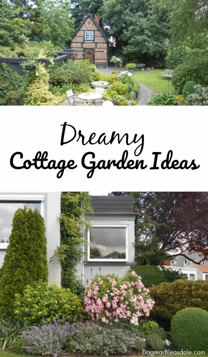 Tiny Home Designs: Cottage Garden Ideas From Pinterest For Our Blue Cottage