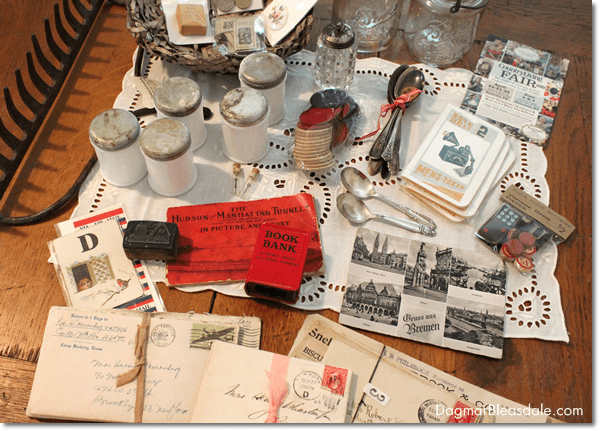 vintage letters, DagmarBleasdale.com