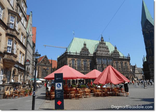 Bremen marketplace, Germany, DagmarBleasdale.com