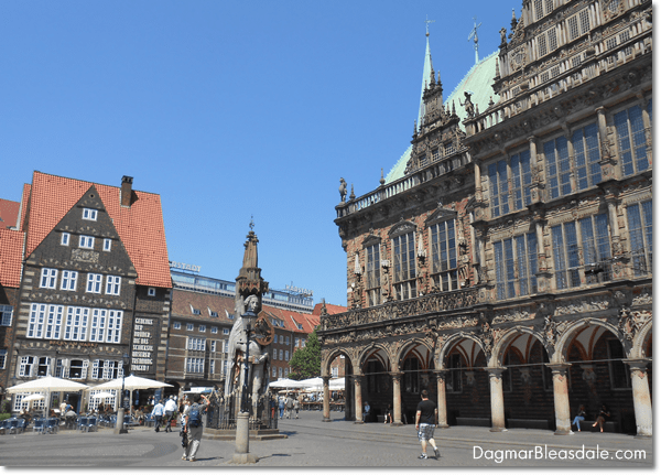 Bremen Marketplace and Roland, DagmarBleasdale.com