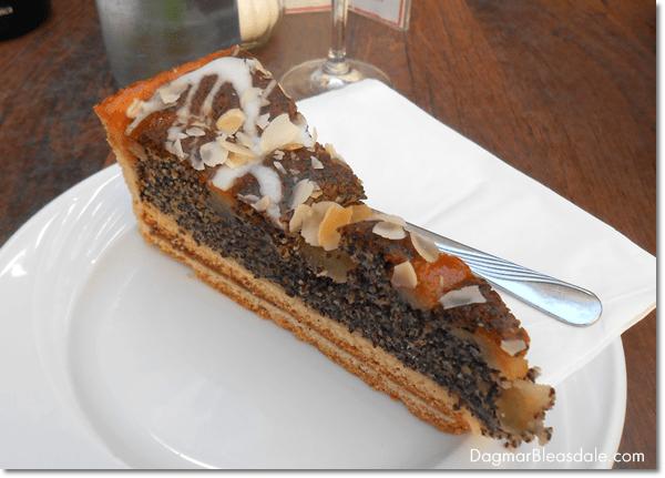 German poppy seed cake, DagmarBleasdale.com