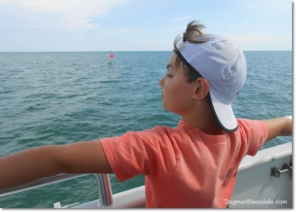 Family Fun on Our Key Largo Glass Bottom Boat Tour