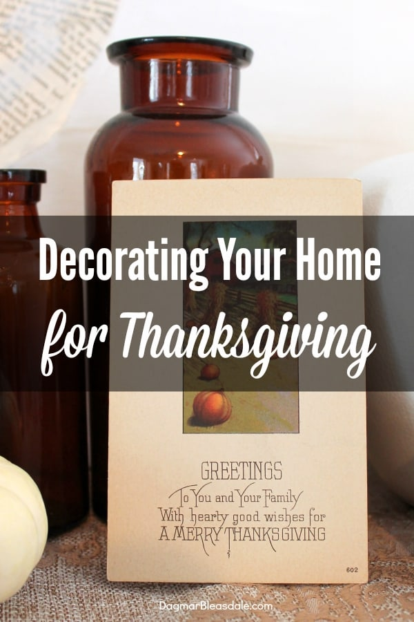 Thanksgiving Decor andOther eBay Collections I Wrote