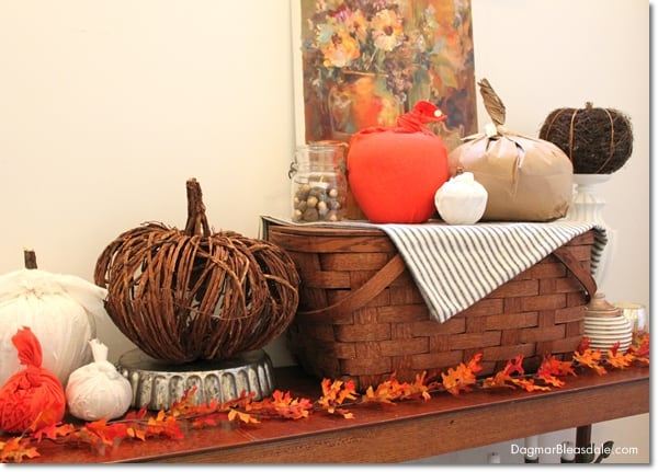 Fall Home Tour of Our Blue Cottage