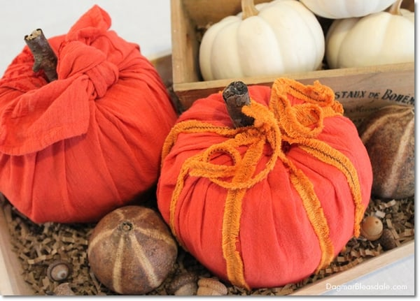 No-Sew Toilet Paper Pumpkin for Easy DIY Fall Decor, DagmarBleasdale.com