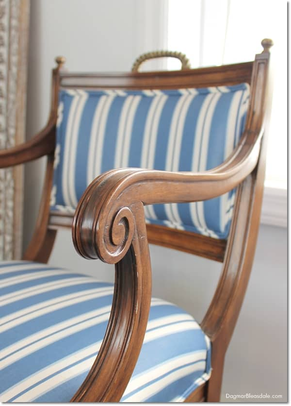 vintage chairs with handles