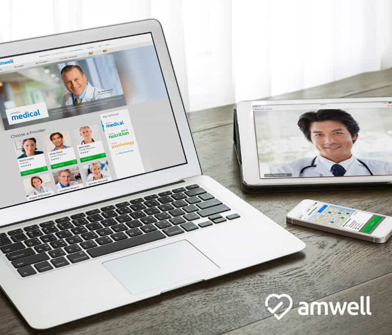 Connect With a Doctor From Your Home – Try Out Amwell for Free