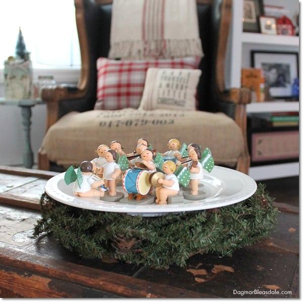 Blue Cottage Christmas Home Tour 2015, DagmarBleasdale.com