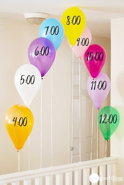 DIY-New-Years-balloons countdown