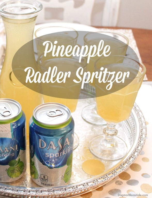 New Year's Eve Pineapple Spritzer