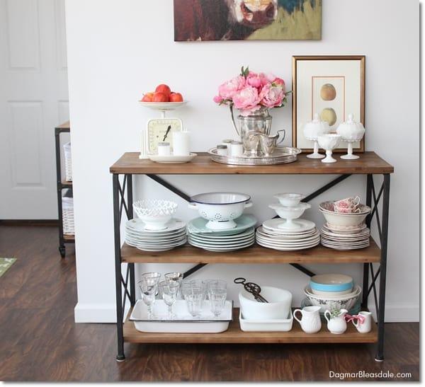 rustic farmhouse console table, DagmarBleasdale.com