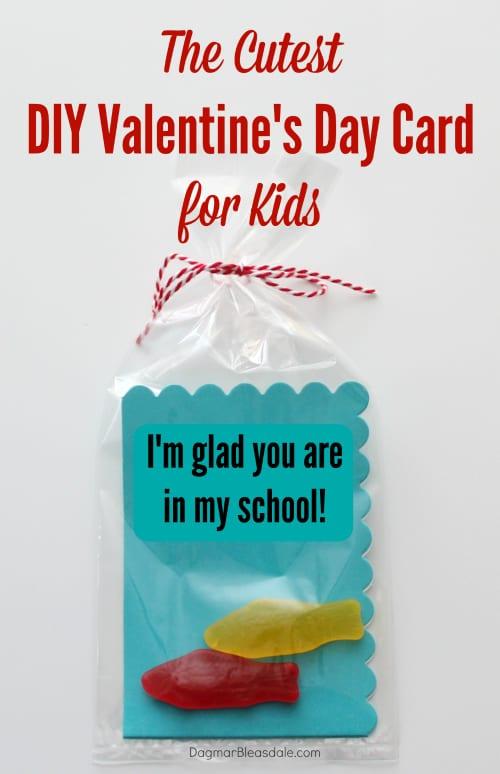 cutest Valentine's Day card for kids, DagmarBleasdale.com