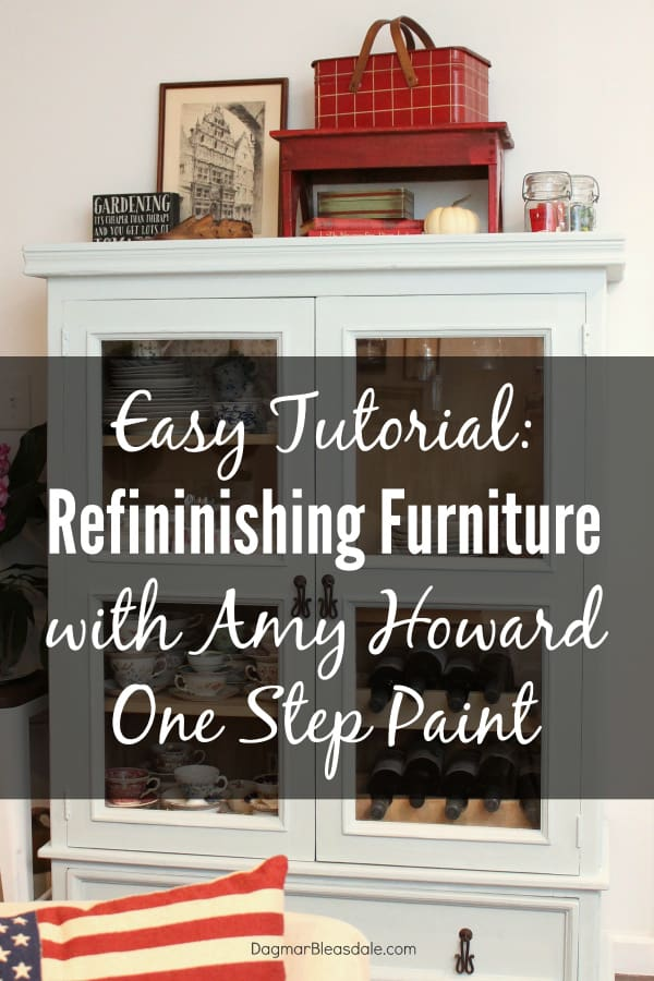Refinishing Furniture With Amy Howard Paint – An Easy Tutorial